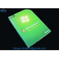 Buy cheap Windows 7 All Versions Dvd PC System Software Ultimate Pro Home Premium Starter Business 32 / 64 Bit from wholesalers