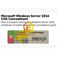 Buy cheap OEM Computer System Softwares , Microsoft Server 2016 Standard DVD 32 64 Bit Sticker from wholesalers