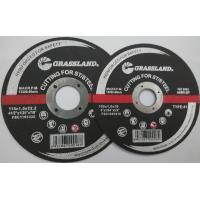 Buy cheap Mpa Approved Abrasive Tool  Grinding Wheel/ Cutting Wheel from wholesalers