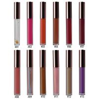 Buy cheap 15 Colors Lip Makeup Cosmetics Lipgloss Moisturizing 10g With Private Logo product
