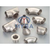 Buy cheap Nickel Alloy Butt Welding Fittings/Elbow/Tee/Reducer/Stub End/Cap/ASME/ANSI B16.9,MSS SP-43/SP-75,ASTM B363,ASTM B367 from wholesalers