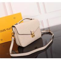 Buy cheap High Quality Louis Vutton, Replica LV White Monogram Empreinte Leather ladies Bag from wholesalers