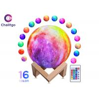 Buy cheap Moon Lamp 16 RGB Colors 3D Night Light for Kids Bedroom Decoration Birthday Gifts from wholesalers