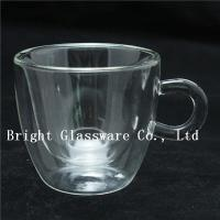 Buy cheap espresso cups, double wall thermo glasses, blown glass coffee cup, tea cup from wholesalers