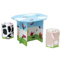 Buy cheap Modular Corrugated Cardboard Furniture ENCF012 Kids Set card board chairs from wholesalers