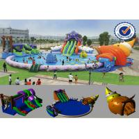 Buy cheap PVC 30M Inflatable Water Parks from wholesalers