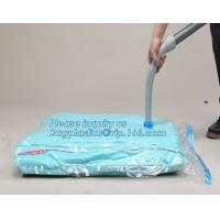 Buy cheap large size vacuum plastic big jumbo, vacuum hanging bag with a valve, vacuum storage bag hanging toy storage bag, bageas from wholesalers