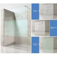 Quality Luxury 12mm Tempered Glass Shower Room Shower Enclosure for Hotel Use for sale