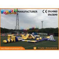 Buy cheap Anti - UV Giant Aquapark Inflatable Water Parks For Kids And Adults from wholesalers