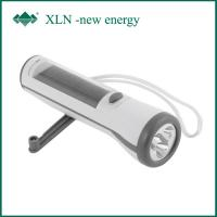 Buy cheap Dynamo Rechargeable Hand Crank Flashlight Radio With Mobile Phone Charger product