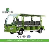 Buy cheap Fashion Design 11 Seats Electric Tourist Car / Electric Sightseeing Bus With 5kw DC Motor product