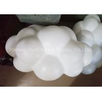 China Mall Ceiling Hanging Modern Art Sculptures , Resin Cloud Sculpture Weatherproof Material on sale