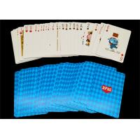 Buy cheap Luxurious Printed Custom Playing Cards Front and Back Poker /  Bridge Size Available from wholesalers