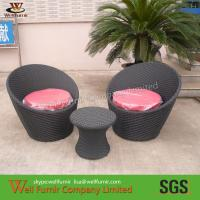 Buy cheap 3pcs Riverside Stackable Patio Set , Waterproof Wicker Patio Furniture from wholesalers