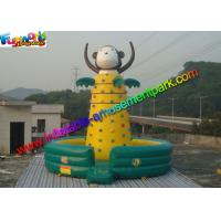 Buy cheap Customized Inflatable Rock Climbing Wall Sport Climbing Games Outdoor from wholesalers
