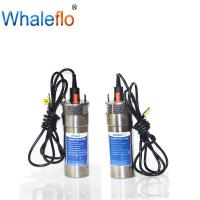 Buy cheap Whaleflo 24V 12LPM 4 inch dc mini high pressure deep well submersible irrigation agricultural solar water pump from wholesalers