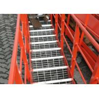 Buy cheap Expanded Steel Stair Treads Grating , Galvanized Bar Grating Stair Treads product