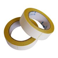 Buy cheap 350mic  thick Double Sided Carpet Tape Hot Melt Adhesive Exhibition Carpet Seaming from wholesalers