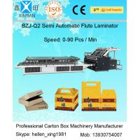 Buy cheap 1450mm Carton Box Making Machine Corrugated Paper Board Flute Laminator Machine from wholesalers
