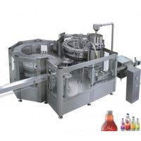Buy cheap Stainless Steel Fresh Fruit Juice Production Line 8 - 40 Head 12000 BPH For Ice Cream from wholesalers