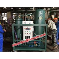 Buy cheap Live working Turbine oil dehydrator,Turbo Oil Purifier, filtration,polish,break emulsion, dewatering, removing particles from wholesalers