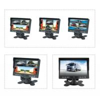 Buy cheap 7 inch TFT LCD car backup monitor car quad monitor 4 channel truck monitor reversing monitor product