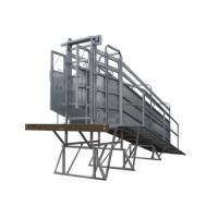 Buy cheap Common Sizes Portable Sheep Loading Ramp, Lightweight Livestock Loading Chute from wholesalers