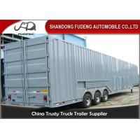 Buy cheap Vehicle Transport Enclosed Semi Trailer , 8-12 Sets Car Carrier Semi Trailer from wholesalers