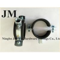 Buy cheap Wall Mount Stainless Steel Pipe Supports With Rubber Lined 1 Mm - 1.5 Mm Thick from wholesalers