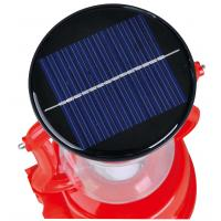 China Solar LED Rechargeable Lantern LED Camping Lights With Crank Torch on sale