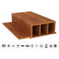 Buy cheap Smooth Decorative Eco WPC Wood Wall Panel For Hotel / Coffee Shop / Home from wholesalers