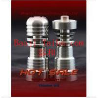 Buy cheap male & female adjustable gr2 Ti domeless e-nail from wholesalers