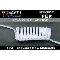 Buy cheap FEP Shrink Tubing /  FEP Coiled Tube / Pipe  / PASS 97-99% UV Light from wholesalers