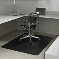 Buy cheap Durable Rectangular Non Studded Chair Mat Custom For Office And Home from wholesalers
