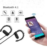 Buy cheap Black / Red / Gold / Blue Mobile Bluetooth Headset Noise Cancel For Samsung LG Iphone from wholesalers