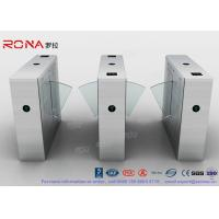 Quality Stainless Steel Turnstile Barrier Gate Swing Retractable Safety Flap Barrier Gate for sale