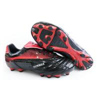 Buy cheap Waterproof Red / Black Outdoor Football Shoes For Men / Boys from wholesalers