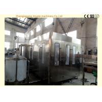 Large Output Juice Bottle Filling Machine Plastic / Pet Bottling With Sterilizing Part