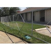 Buy cheap Steel Wire Mesh Temporary Chain Link Garden Security Fence 6 feet high X 12 feet long from wholesalers