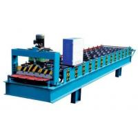 Buy cheap Electronic Control Metal Roof Roll Forming Machine With Hydraulic Metal Cutter from wholesalers