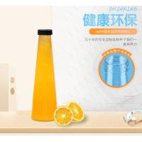 Buy cheap 450ml 500ml Clear Plastic Juice BottlesEnviromently Friendly Uv Printing from wholesalers