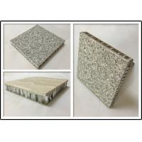 Buy cheap Basalt Stone Aluminium Honeycomb Panel With Edge Sealed For Indoor Decoration from wholesalers