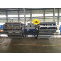 Buy cheap Hydraulic Extendable Amphibious Pontoon for 20--26 Ton Excavator , Model: MAX200PU-E from wholesalers
