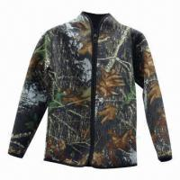 Buy cheap Men's jacket, 5mm thickness neoprene with camo nylon, super warm from wholesalers