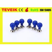 Buy cheap 6PCS Multi - Purpose ECG Electrode With Nickel Plated Copper For Adult from wholesalers