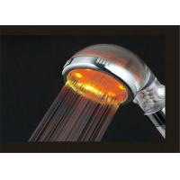Buy cheap Round LED Rain Shower Head High Water Pressure With Negative Ion from wholesalers