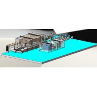 Buy cheap High Efficiency Hamburger Press Forming Processing Production Line product