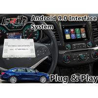China Google Map / Wase Android Car Interface For Chevrolet Impala / Colorado Mylink System 2015-2020 on sale