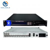 Buy cheap 12 * ASI Input Digital Video Multiplexer , Hd ISDB T Multiplexer Support PCR from wholesalers