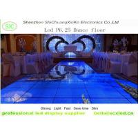 Buy cheap indoor p6.25  smd full color led dance floor screen for disco hall, night club, T-stage from wholesalers